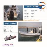' Luxuxboot der rippen-21 nach Italien