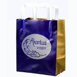 Bolso de la maneta del bucle/bolso de /Promotion del bolso de compras/bolso plástico del embalaje (HF-483)