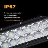 Barre tous terrains de l'éclairage LED 120W incurvée par 22inch de camion de remorquage