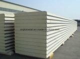 панели сандвича PU крышки 1000m изолированные шириной для стены для крыши для строительного материала
