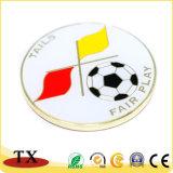 Excelente loja de desporto futebol de moedas metálicas de Futebol Sporting Coin