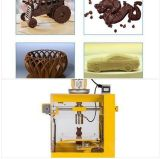 セリウムの/FCC/RoHSの単一のノズルデスクトップチョコレート3D食糧プリンター