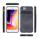 Kreditkarte-Schlitz-rückseitiger Deckel-Telefon-Kasten für Samsung-Galaxie S8 plus