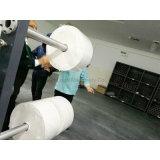 Etiqueta auto-adesiva guilhotinagem de alta velocidade e máquina de Enrolamento