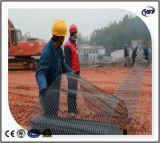 Plastic HDPE Unixial Geogrid voor Zeedijk