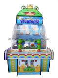 運動場のためのカエルの軍艦のアーケード・ゲーム機械子供の乗車