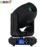 Gbr-Gl200 200W LED Punkt-bewegliches Hauptlicht