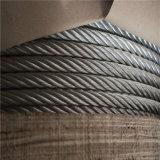 L'AISI304 1X19 La corde de fils en acier inoxydable cable acier