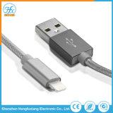 Cavo del caricatore del USB del lampo di dati del telefono mobile 5V/2.1A per il iPhone