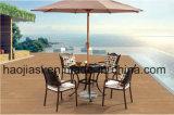 /Rattan esterno/presidenza & Tabella della fusion d'alluminio della mobilia hotel Patio//del giardino impostate (HS 3299C& HS 6119DT)