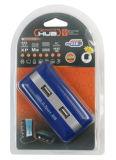 7-Ports Nabe USB-2.0 mit Aluminiumgehäuse