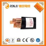 電源コード0.6/1kv PVC/XLPEはおおわれた鋼鉄テープまたはWire/Alワイヤー装甲低電圧の銅の制御ケーブルを絶縁した