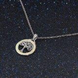 De nieuwe Zilveren Juwelen van de Halsband van de Stamboom van de Juwelen van het Ontwerp van de Manier Opalen