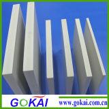 Panneau en plastique de mousse des lamelles de construction/PVC
