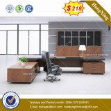 공장 가격 PVC 가장자리 밴딩 버찌 색깔 컴퓨터 책상 (HX-8NE066)