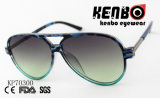 Estilo Sunglassses do aviador com barra superior Kp70300