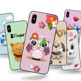 2018 جديدة يوصل [تبو] [سلّ فون] حالة لأنّ [إيفون] [إكس] 10 طباعة هاتف حالة