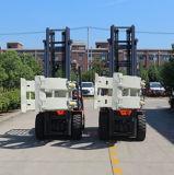 El rodillo del papel de la alta calidad de la fábrica embrida la carretilla elevadora con el motor chino