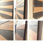 Изготовление настила WPC/деревянной панели стены Cladding/WPC Vinyle пластичной