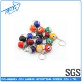 Billiard-Andenken-Minibilliard-Snooker-/Pool-Kugeln mit SchlüsselChiain