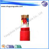 XLPE 절연제 PVC 칼집 스크린 조종 케이블