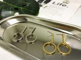 유럽 형식 현대 보석 모조 금 장식 못 Earings