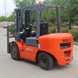Forklift super do diesel do mastro triplicar-se 3 de Hangzhou da qualidade