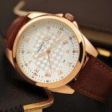 Uhr-Qualitäts-Kristallentwurfs-Mann-Uhr-wasserdichte Quarz-Uhren der Fabrik-H342 preiswerte