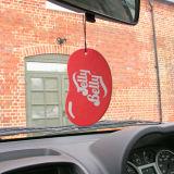 Ambientador de aire de papel del coche para el regalo promocional
