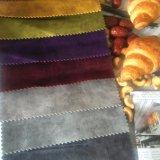 Tessuto 100% del velluto del poliestere per il cuscino del sofà