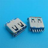 Schakelaar van Mainboard USB 3.0 van de hoge snelheid de Rechte Solderende