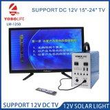 El apoyo del ventilador de 12V DC Camping Solar Power System