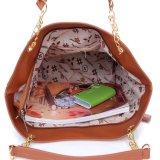 夏の余暇のキャンバスの女性浜袋の方法縞のショルダー・バッグ