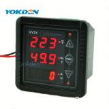 Gv24 a exibição de medidor do painel digital de corrente AC