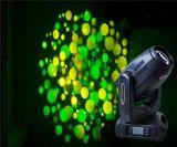 Gbr 280W die de Hoofd Lichte Lamp van de Vlek van de Kleuren van de Partij van het Stadium DMX512 20/24channels Gobo beweegt