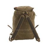 Mens-Entwerfer-Freizeit-Segeltuch-Rucksack für das Kampieren und die Reisen