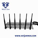 6 telefone de pilha do poder superior 3G da antena & jammer de 315MHz 433MHz