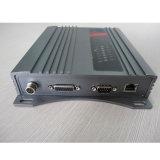 Fijos RFID UHF pasiva OEM lector de etiquetas escritor con 4 puertos de antena externa