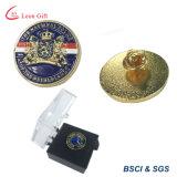 Kundenspezifisches Decklack-Metallabzeichen-Revers steckt keine minimale Menge fest