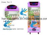 La macchina pazzesca di lusso della galleria della macchina del gioco della gru del giocattolo 3