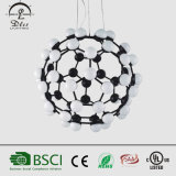 De la bola popular de 2017 lámpara de cristal de la iluminación de la decoración diseños