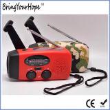 El NOAA banda FM/AM/BM Radio solar y energía (auricular XH-FM-017)