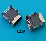 SMT 유형 단말기 5 Pin 소형 USB 연결관