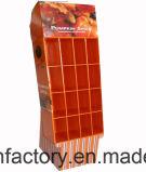 Publicidad del soporte de visualización de la cartulina del estallido/del supermercado que hacen publicidad de la situación del estante