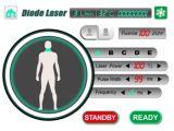 Macchina permanente di rimozione dei capelli del diodo 808nm di prezzi del distributore del laser dell'uomo non doloroso delle donne