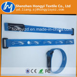 Courroies faites sur commande auto-bloqueuses en nylon de crochet et de boucle