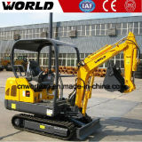 中国1.8tonの油圧坑夫の小型掘削機の価格