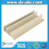 Amarillento blanco de la capa del polvo para la exportación de aluminio del perfil al mercado de Nigeria África