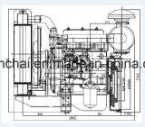 De natuurlijk Opgezogen Dieselmotor van 3 Cilinder voor de Pomp van het Water