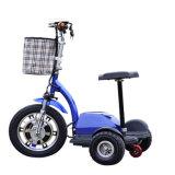 Faltbarer drei Rad-elektrischer Roller Trikke Mobilitäts-Roller-elektrisches Fahrrad